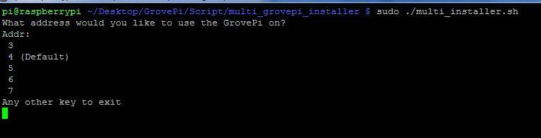 Run the multi GrovePi script