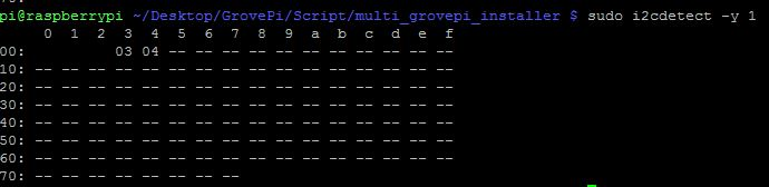 Multiple GrovePi's connected