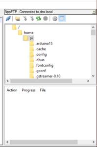 Raspberry Pi Notepad++