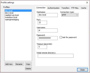 notepad-profile-setup