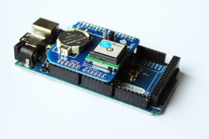 arduino_gps_shield-on_mega Arduino GPS Shield