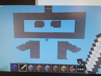 Building Dex in Minecraft on a Pi