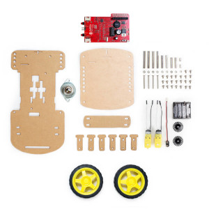 GoPiGo Base Kit components