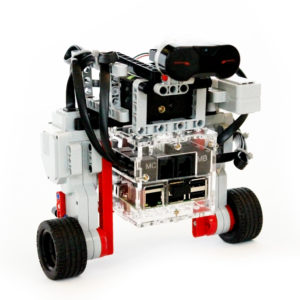 BrickPi Balance Bot with the Raspberry Pi