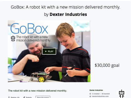 Kickstarter Launch: GoBox!