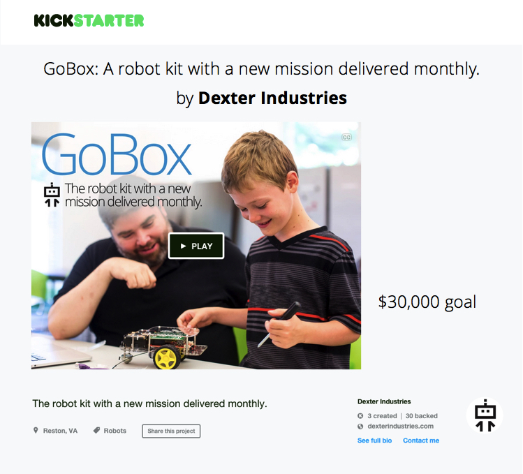 GoBox for the Raspberry Pi
