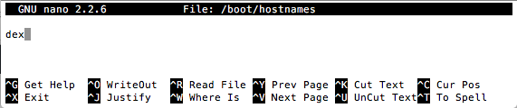 Editing hostnames in boot directory Raspbian For Robots
