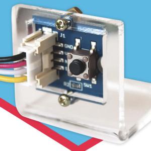 Sensor Mount label front