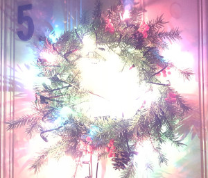 Light and Motion Controlled Wreath