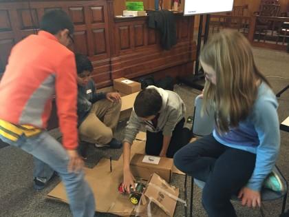Teachers using Raspberry Pi robots in the Classroom