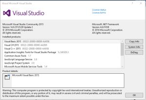 Verify-visual-studio-for-winiot-grovepi
