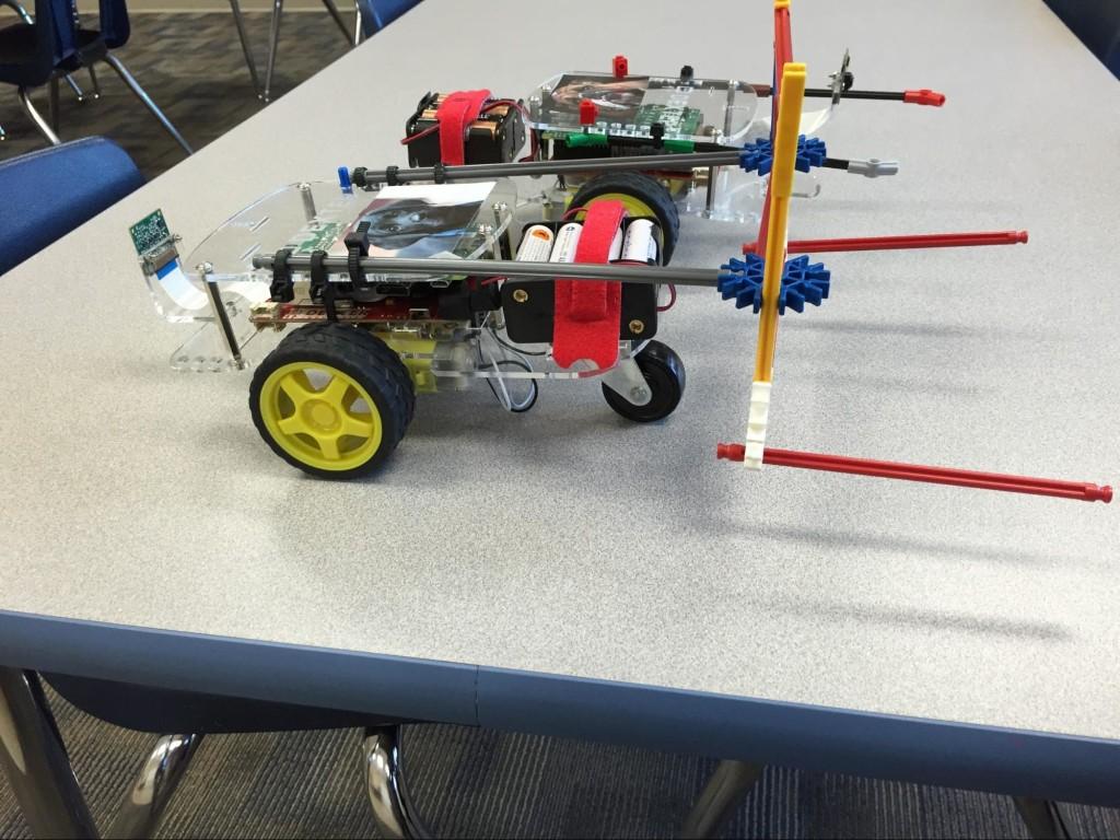 GoPiGo Robotic Soccer Players Finished!