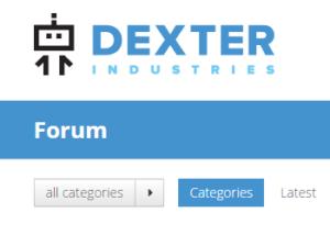 The new Dexter industries forum