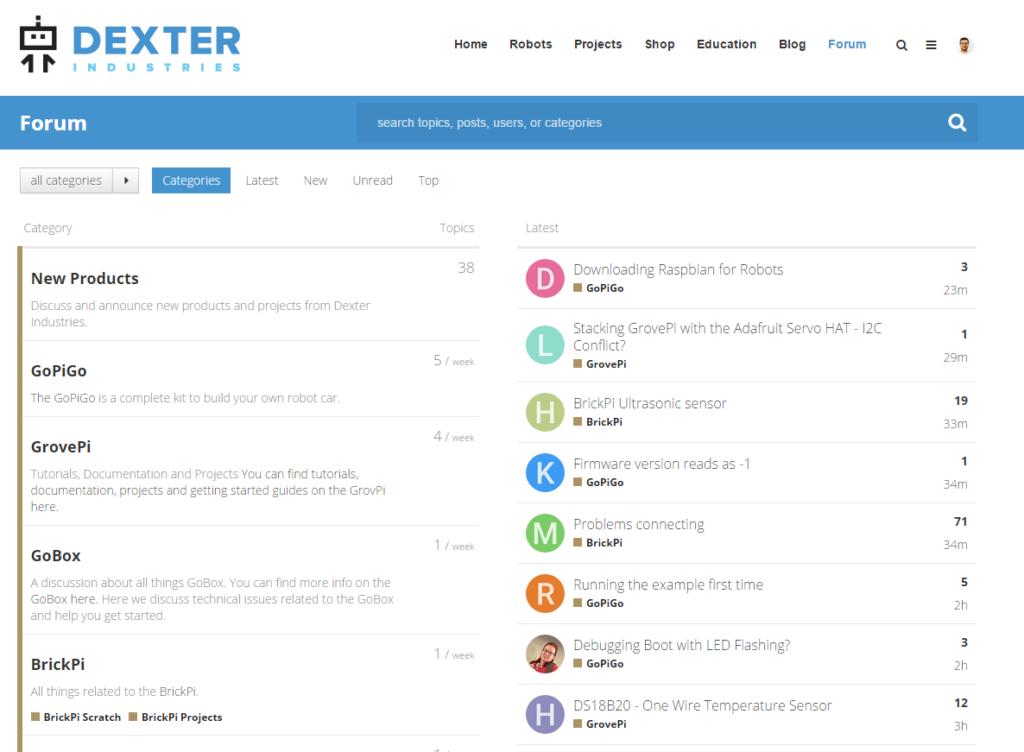 The forum screenshot