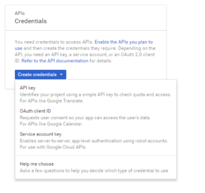 Create Service Account Key for Raspberry Pi Google Cloud