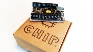 A headless Chip C.H.I.P. in Headless Mode