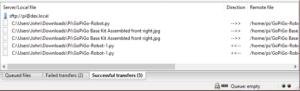 ftp-2-filezilla-transfer-information