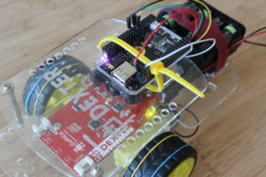 Make a CHIP Robot with a Zip Tie and the GOPIGO