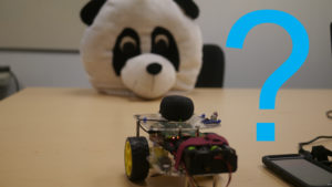 Robot That Reads Emotions trying to read a Pandas emotions
