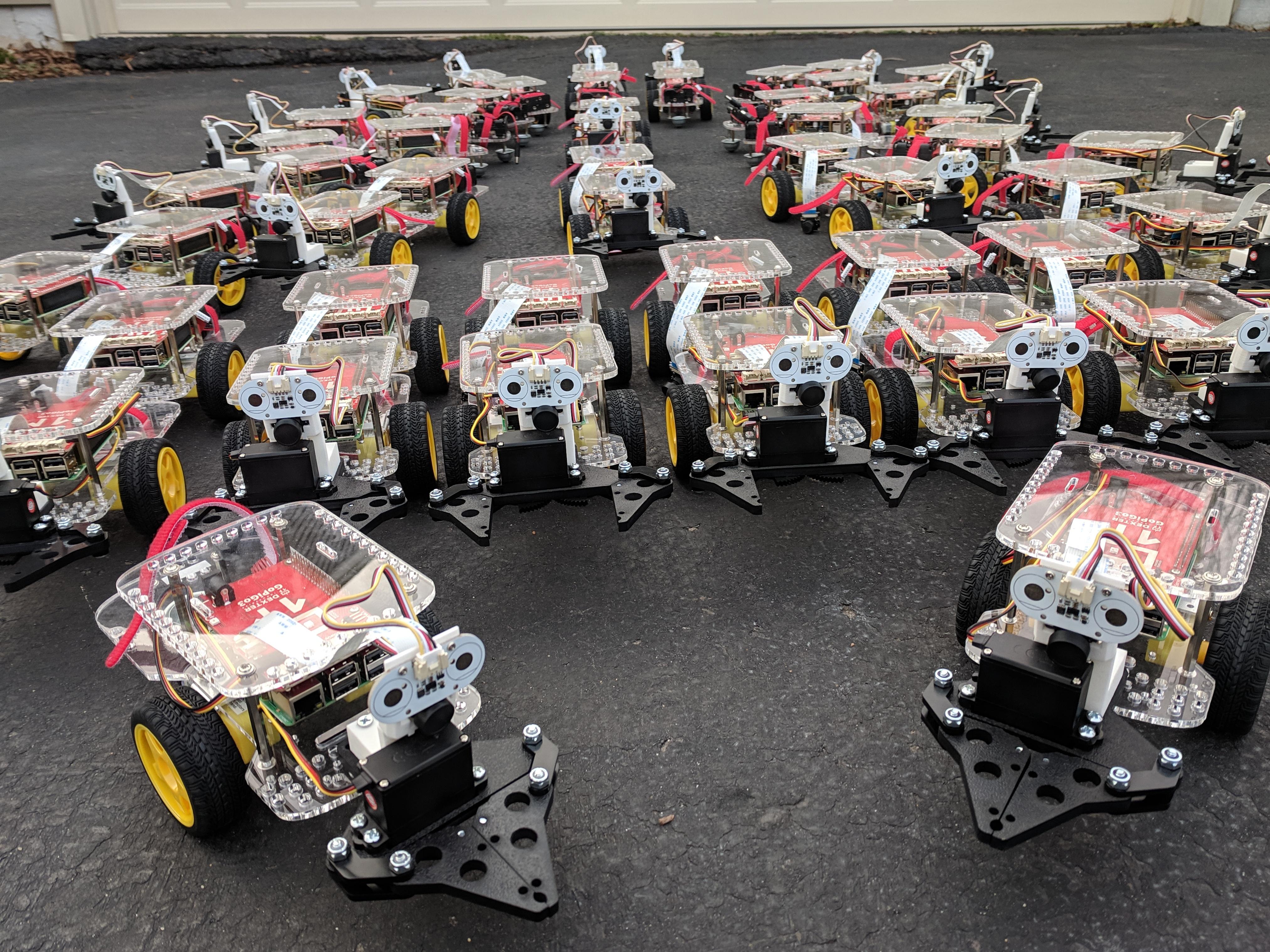 Google Cloud Derby Robots
