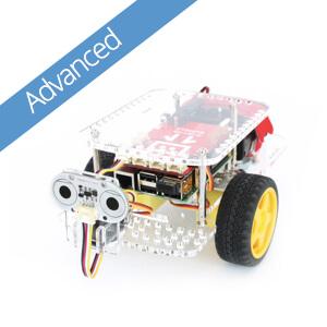 GoPiGo Robot Advanced Starter Kit: the Raspberry Pi Robot Car