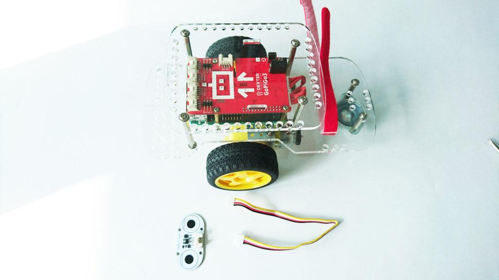 GoPiGo3 Raspberry Pi Robot with Distance Sensor