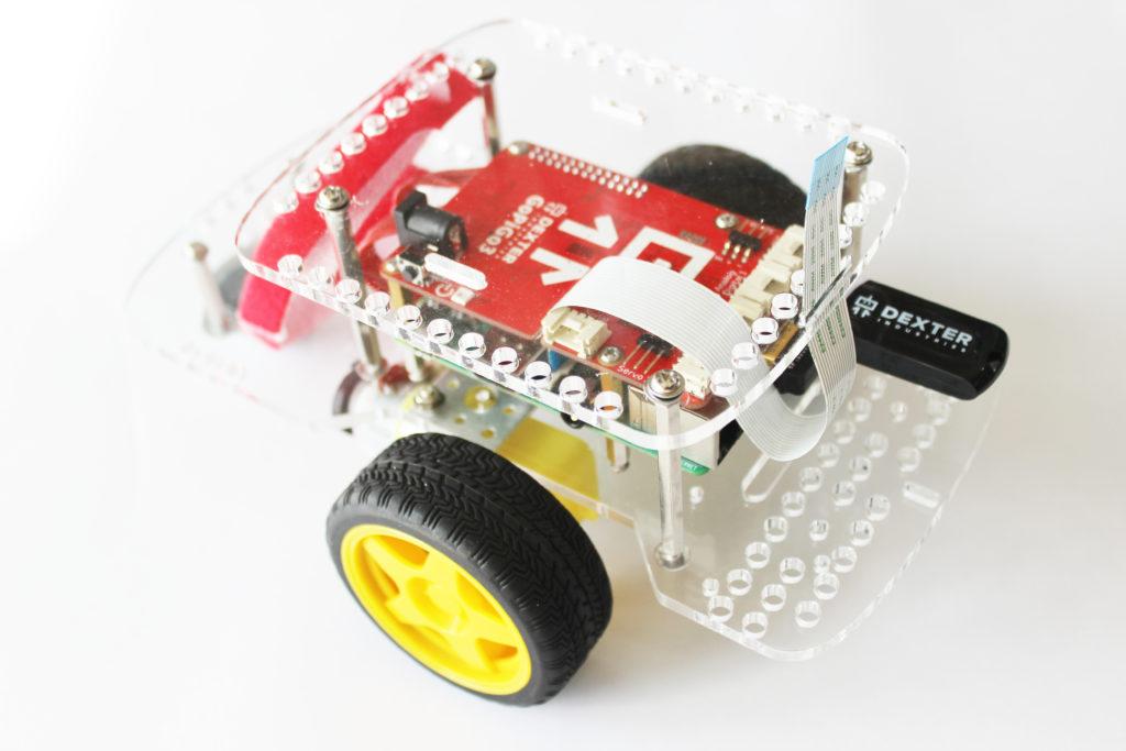 Attach the Camera or the Distance Sensor to the GoPiGo3 Raspberry Pi Robot