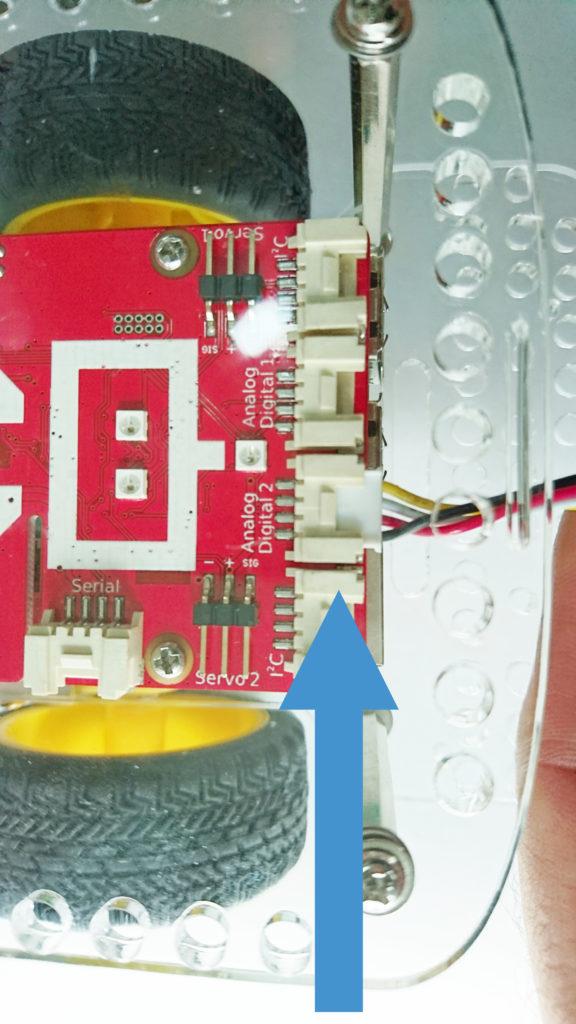 Attach an ultrasonic sensor to a raspberry pi robot
