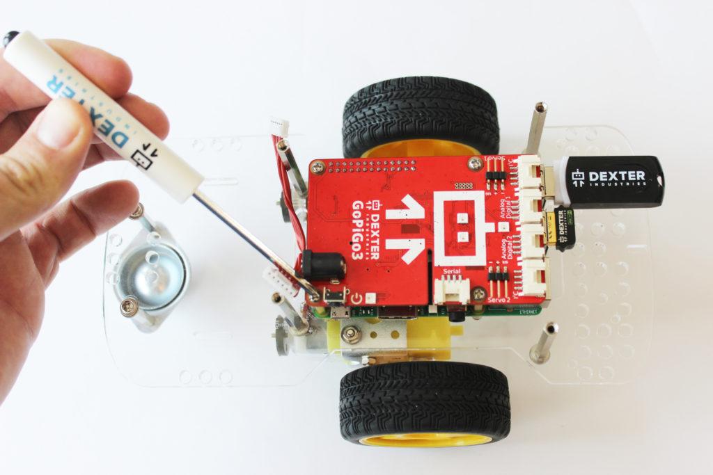 Dexter Industries GoPiGo3 Raspberry Pi Robot