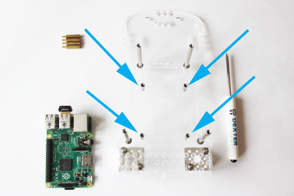 Assemble the BalanceBot Robot
