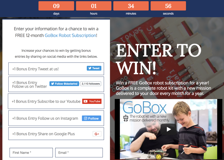 GoBox Giveaway