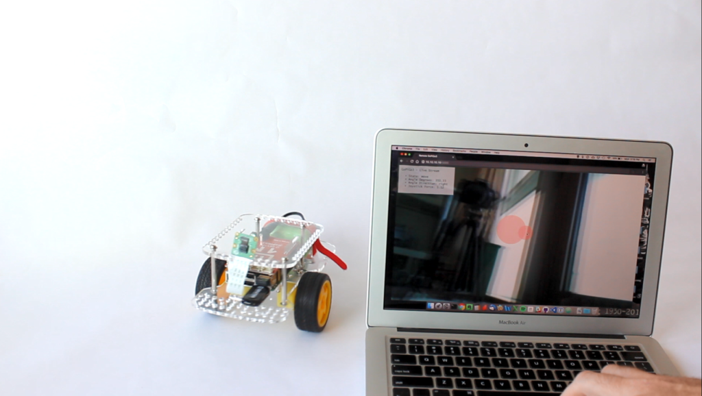 video streaming robot with the GoPiGo3