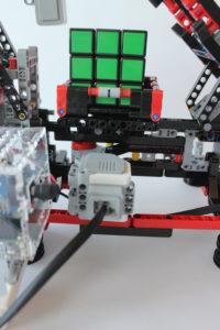 raspberry pi rubiks cube solving robot