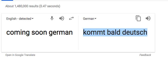 DexterOS in Deutsch