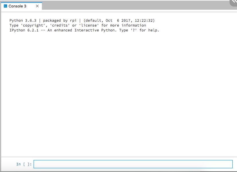 DexterOS Programming Raspberry Pi Robots in IDLE Python Jupyter Lab