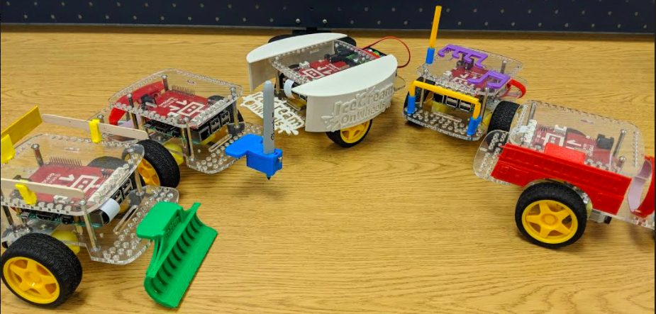 gopigo3 robotics and 3d printing