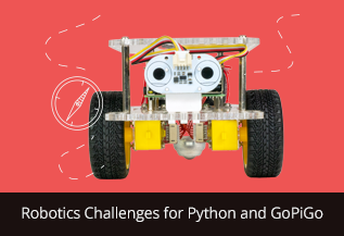 Robotics Challenges for Python and GoPiGo